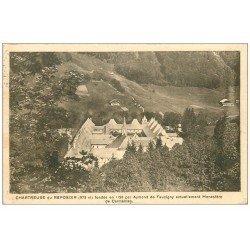 carte postale ancienne 74 CHARTREUSE-DU-REPOSOIR. Monastère 1936
