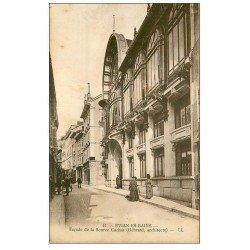 carte postale ancienne 74 EVIAN-LES-BAINS. Façade Source Cachat