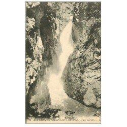 carte postale ancienne 74 SAINT-GERVAIS-LES-BAINS. Le Fayet. Cascade