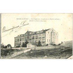 carte postale ancienne 26 BOURG-DE-PEAGE. Ecole puis Hôpital Militaire 1916