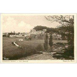 carte postale ancienne 26 CHABEUIL. Vue du Village