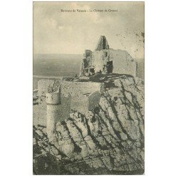 carte postale ancienne 26 CHATEAU DE CRUSSOL 1922