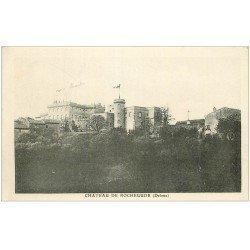carte postale ancienne 26 CHATEAU DE ROCHEGUDE
