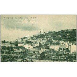carte postale ancienne 26 CREST. Tour et Clocher 1927