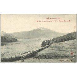 carte postale ancienne 26 FORET DE LENTE. Le Signal de Montuez vers 1905
