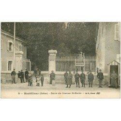 carte postale ancienne 26 MONTELIMAR. Casernes Saint-Martin 1919