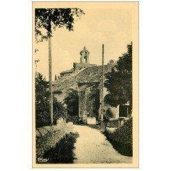 carte postale ancienne 26 ROCHEGUDE. Chapelle Saint-Denis