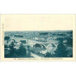 carte postale ancienne 26 ROMANS-SUR-ISERE. Le Nouveau Pont