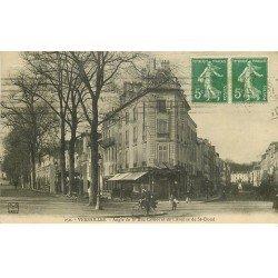 carte postale ancienne 78 VERSAILLES. Brasserie Rue Carnot et Avenue de Saint-Cloud