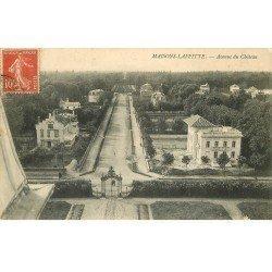 carte postale ancienne 78 MAISONS-LAFFITTE. Avenue du Parc