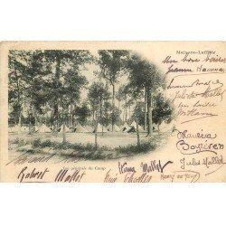 carte postale ancienne 78 MAISONS-LAFFITTE. Le Camp 1902. Timbre absent