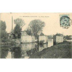 carte postale ancienne 78 MAISONS-LAFFITTE. Le Vieux Moulin 1907