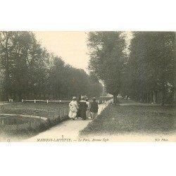 carte postale ancienne 78 MAISONS-LAFFITTE. Parc Avenue Eglé