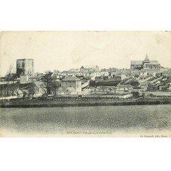 carte postale ancienne 78 HOUDAN. Vue générale 1908