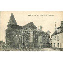 carte postale ancienne 78 HOUDAN. L'Eglise