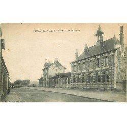 carte postale ancienne 78 HOUDAN. Les Ecoles Rue Epernon