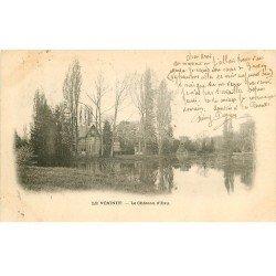 carte postale ancienne 78 LE VESINET. Château d'Eau 1903