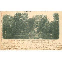 carte postale ancienne 78 LE VESINET. Château d'Eau Lac Supérieur 1902