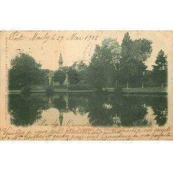 carte postale ancienne 78 LE VESINET. Lac Inférieur 1902