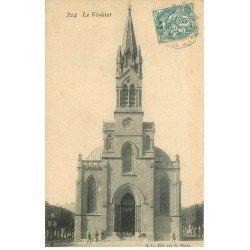carte postale ancienne 78 LE VESINET. L'Eglise vers 1903