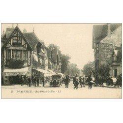 carte postale ancienne 14 DEAUVILLE. Au Printemps Rue Désiré-le-Hoc