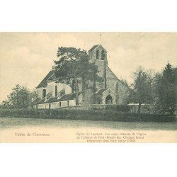 carte postale ancienne 78 CHEVREUSE. Eglise Saint-Lambert