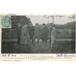 78 RAMBOUILLET. Roi d'Italie à la Chasse. Victor-Emmanuel III, Loubet, Dalstein, Mougeot, Fallières... 1904