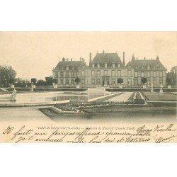 carte postale ancienne 78 VALLEE DE CHEVREUSE. Château Breteuil 1903
