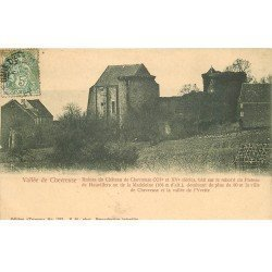 carte postale ancienne 78 VALLEE CHEVREUSE. Château Chevreuse Plateau de Hauvillers