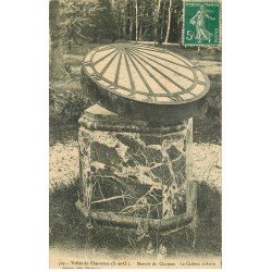 carte postale ancienne 78 VALLEE CHEVREUSE. Manoir du Claireau le Cadran solaire