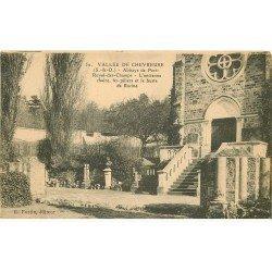 carte postale ancienne 78 VALLEE CHEVREUSE. Abbaye Port Royal des Champs Chaire 1928