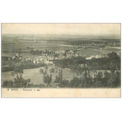carte postale ancienne 14 DIVES. Panorama 1921