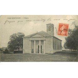 carte postale ancienne 79 CHEF-BOUTONNE. L'Eglise 1919