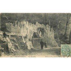 carte postale ancienne 79 FRONTENAY. La Grotte 1906
