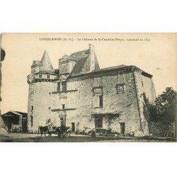 carte postale ancienne 79 LOUBLANDE. Château de la Coudraie-Noyer animation