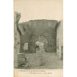 carte postale ancienne 79 THOUARS. Porte Maillot