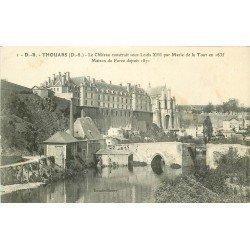 carte postale ancienne 79 THOUARS. Le Château Maison de Force 1916