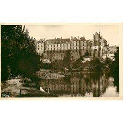 carte postale ancienne 79 THOUARS. Le Château 1937
