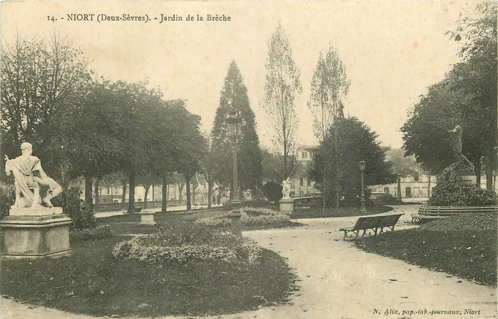 79 niort jardin de la br che 1914 for Jardin royal niort