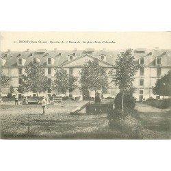 carte postale ancienne 79 NIORT. La Piste Sauts d'obstacles Quartier du 7 Hussard