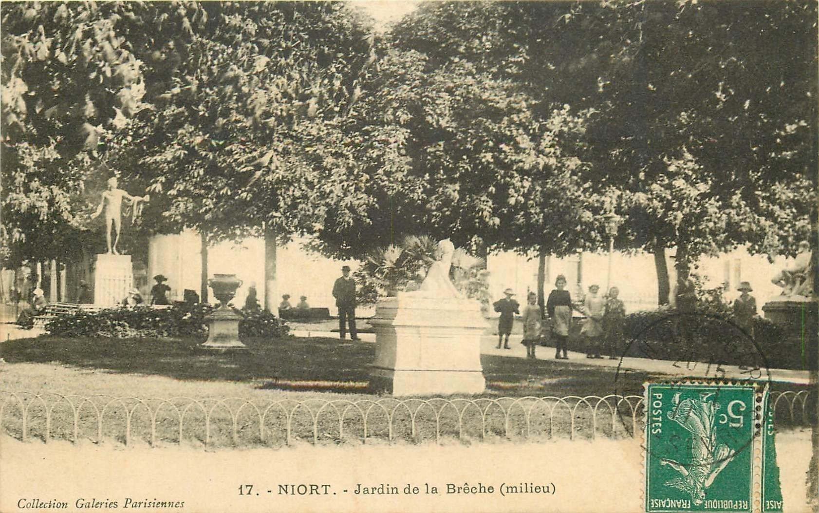 79 niort jardin de la br che 1911 for Jardin royal niort