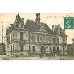 carte postale ancienne 79 NIORT. Hôtel de Ville 1909