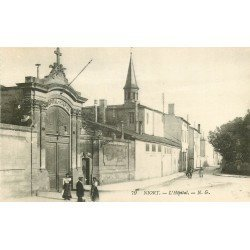 carte postale ancienne 79 NIORT. L'Hôpital