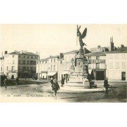 carte postale ancienne 79 NIORT. La Place Saint-Jean