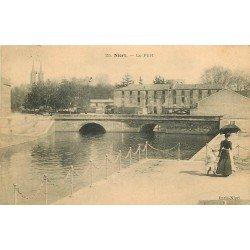 carte postale ancienne 79 NIORT. Le Port 1907