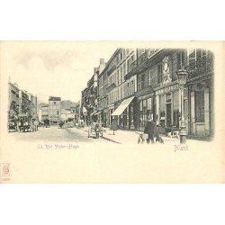 carte postale ancienne 79 NIORT. La Rue Victor-Hugo vers 1900
