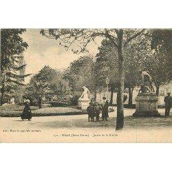 carte postale ancienne 79 NIORT. Jardin de la Brèche