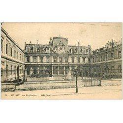 carte postale ancienne 01 BOURG. La Préfecture