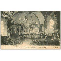 carte postale ancienne 14 HONFLEUR. Eglise Notre-Dame de Grâce 22