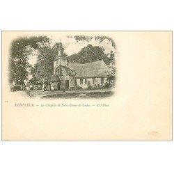 carte postale ancienne 14 HONFLEUR. Eglise Notre-Dame de Grâce Chapelle vers 1900